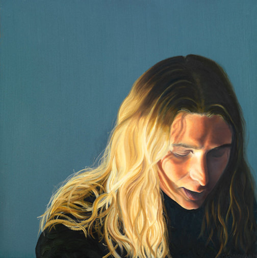 Reflection, Oil on Canvas by Lucy O'Donovan