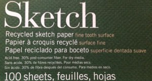 Environmentally Friendly Sketchbook