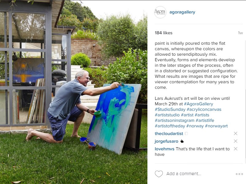 How to Promote Your Art on Instagram - Agora Gallery - Advice Blog
