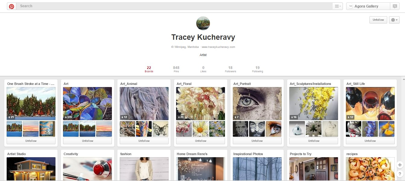 How To Use Pinterest To Promote Artwork