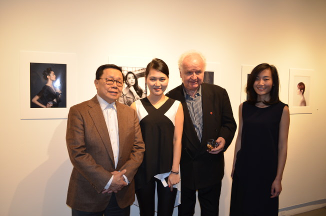 From left to right: Henry Tang, founder of the Committee of 100; Yuhan Liu, founder and CEO of Han Media Inc.; Claus Mueller, foreign correspondent of M21 entertainment based in Paris; Haiyin Lin, photographer based in New York.