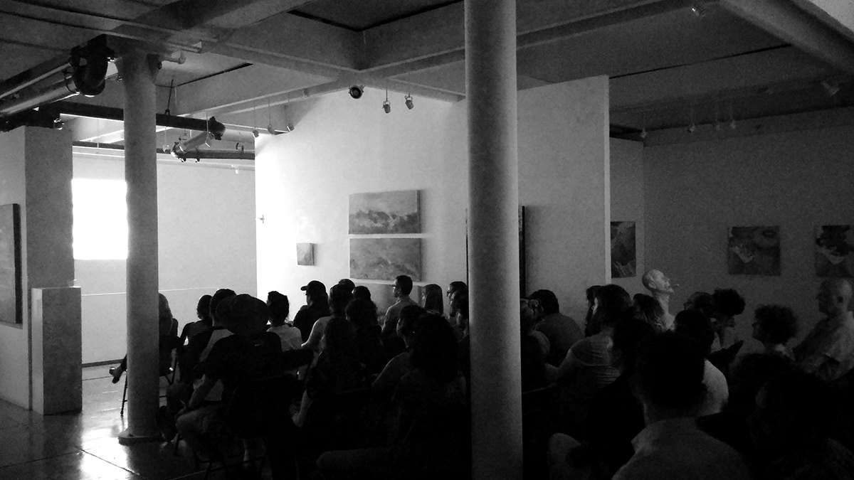 During the Everybody Street screening at Agora Gallery on July 2nd