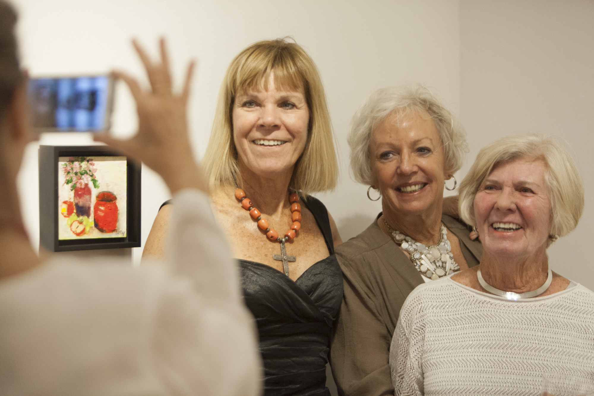 Jan Cyr and Friends at 8/27 opening Reception