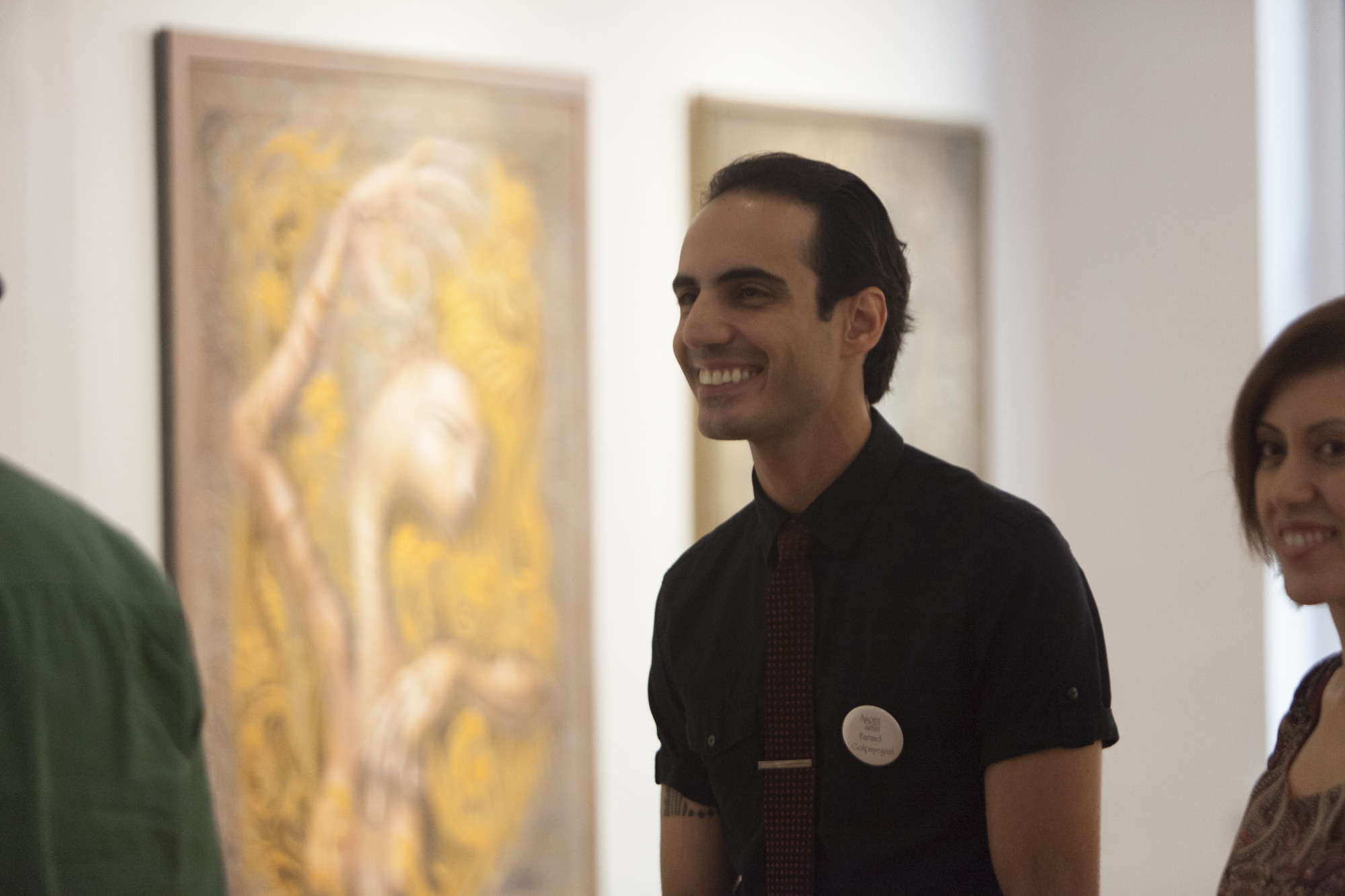 Farzad Golpayegani at the August 27 Reception