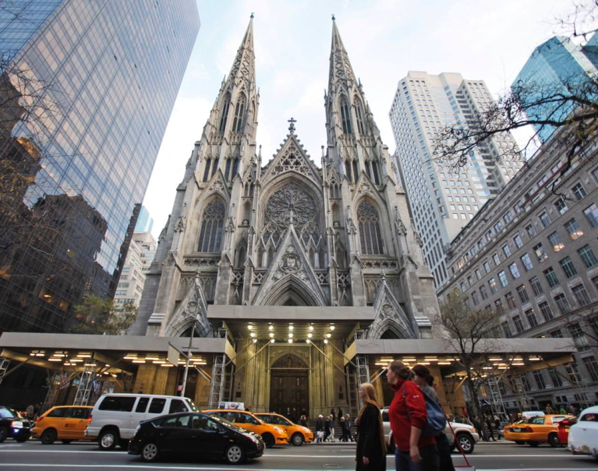 The Gothic St. Patrick's Cathedral in New York City; Source: nydailynews.com