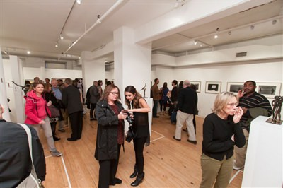 April 25, 2013 gallery reception 1 of 2