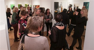 December 5, 2013 gallery reception 1 of 2