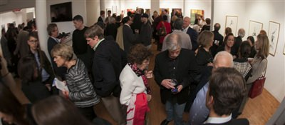 November 7, 2013 gallery reception 1 of 3