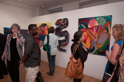 June 6, 2013 gallery reception 1 of 2