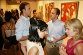 July 7, 2011 Reception: Elements of Abstraction