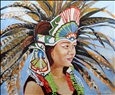 Headdress in Cuba