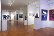 Near front windows, west wing, Chelsea Gallery - Facing Rear