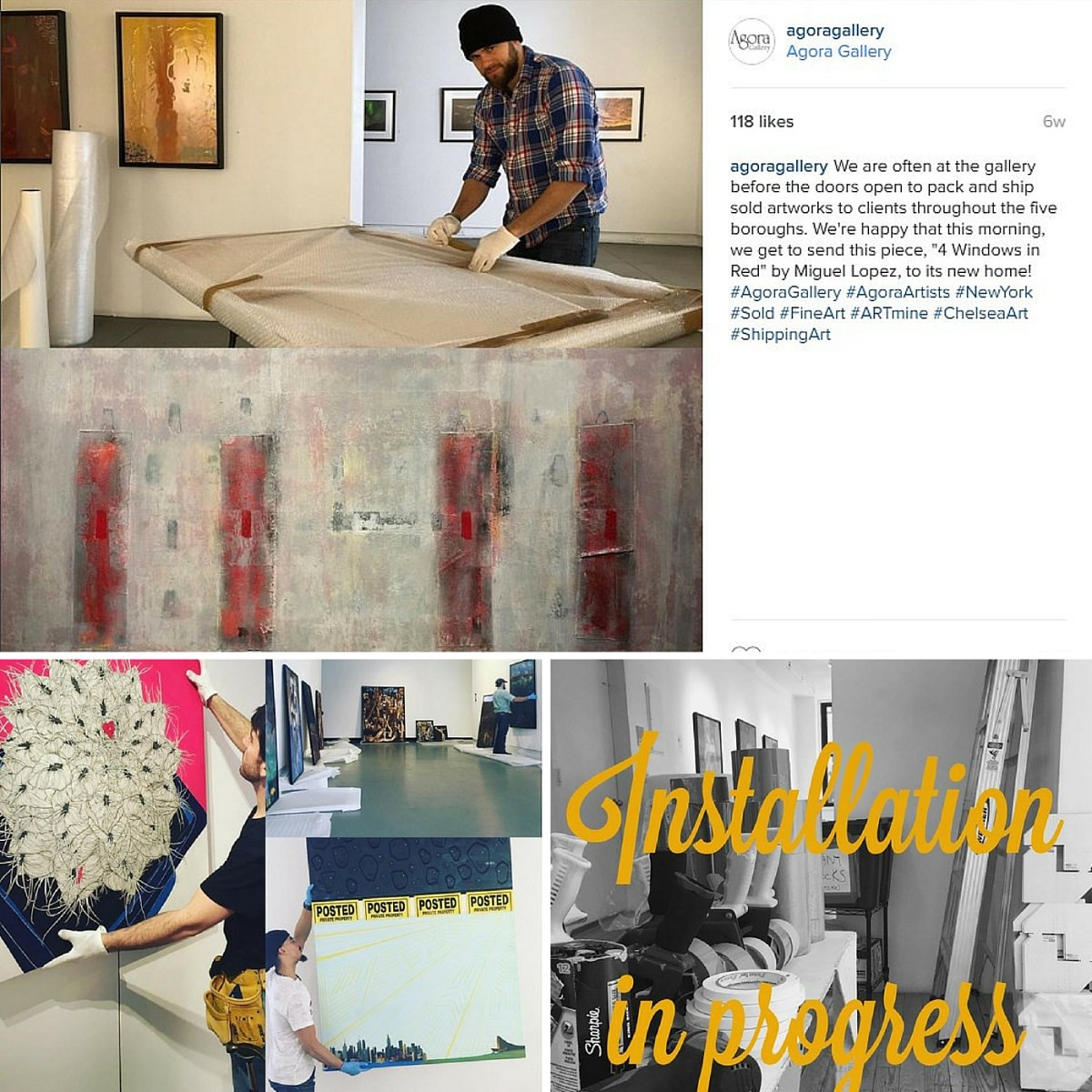 How To Promote Your Art On Instagram Agora Gallery Advice Blog