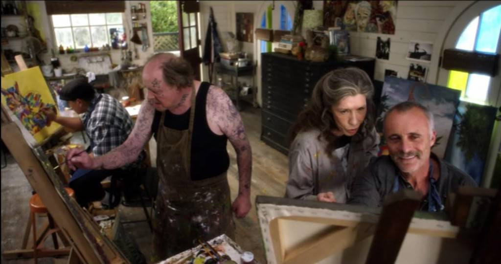Netflix's Grace and Frankie: Frankie Teaching Art