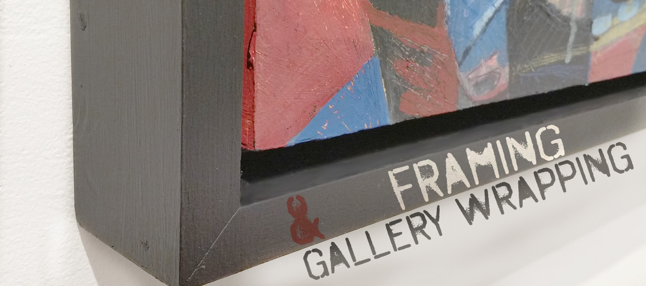 Framing and Gallery Wrapping for Professional Exhibitions - Agora ...