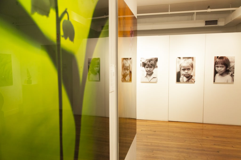 Agora Gallery's recent Illumination exhibition, featuring contemporary photography. Pictured here are Mark James Ford (left) and Bruna Vangi (right)
