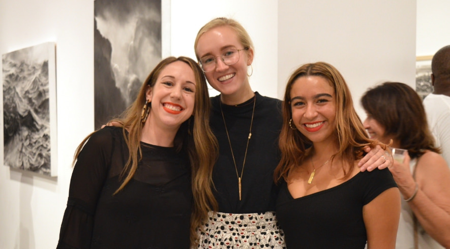 Assistant Director and 2018 summer gallery interns