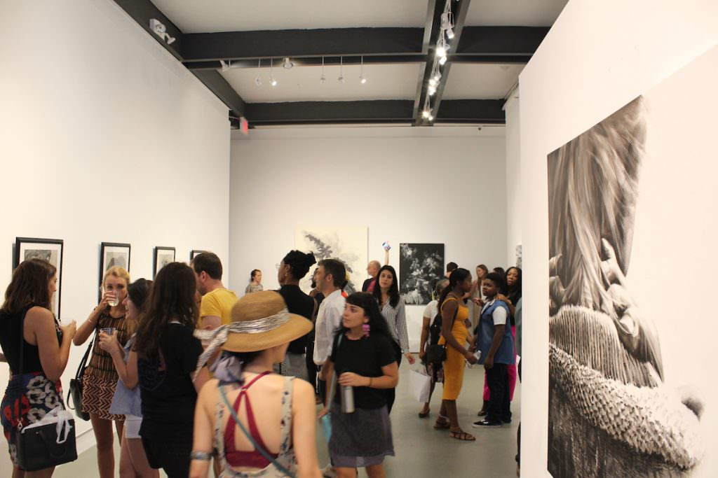 Fine Art Competition opening reception at Agora Gallery
