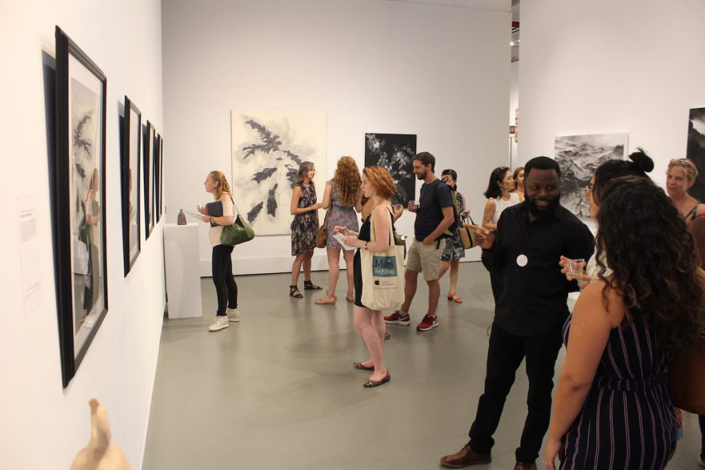 Reception at Agora Gallery