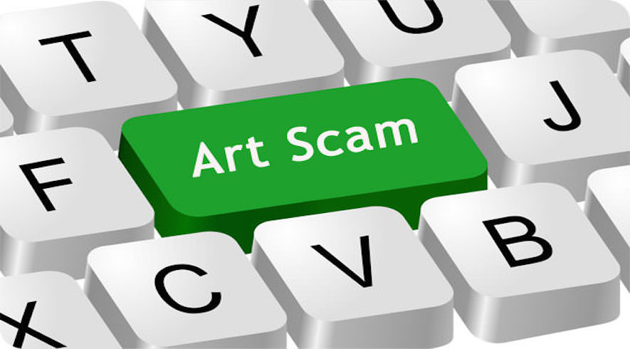 how to recognize an art scam