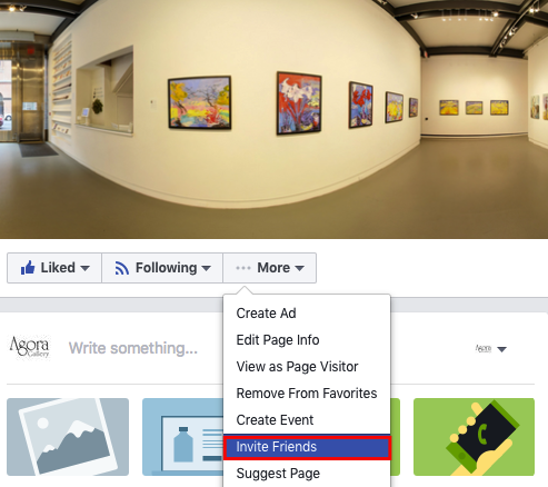Create a Professional Artist Page on Facebook - Agora Gallery