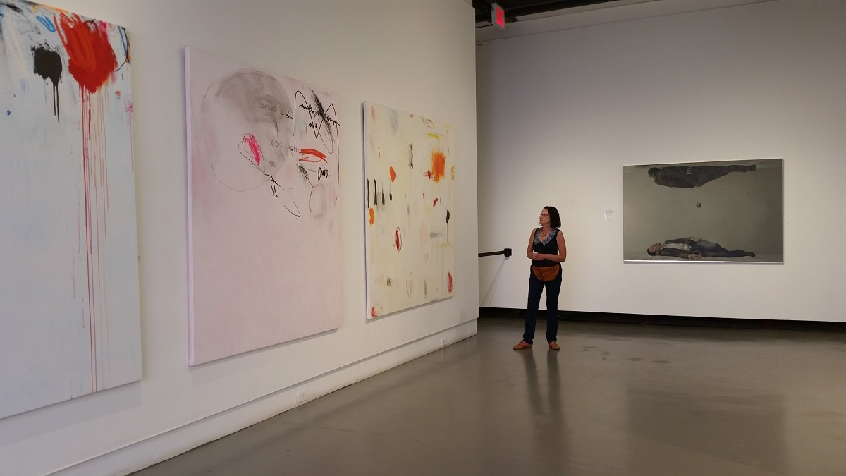 Tsipi isn't the only one who has been experiencing personal growth these past four years. When she came, she was able to enjoy our first floor gallery, which opened in October, 2014!