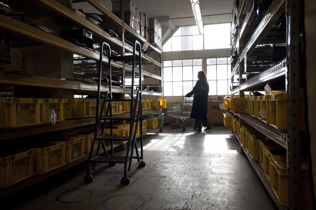 MFTA occupies 35,000 square feet on the third floor on the third floor of a warehouse in Long Island City.