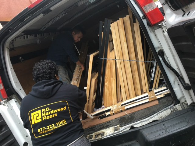 Agora Gallery's materials being donated to the MFTA