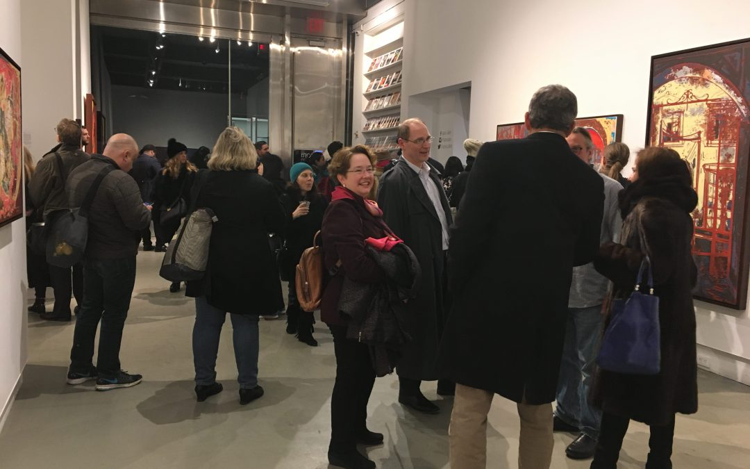 Agora Gallery's February 18th Opening Reception