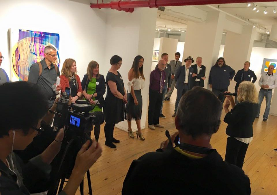 Agora Gallery's March 10th Opening Reception
