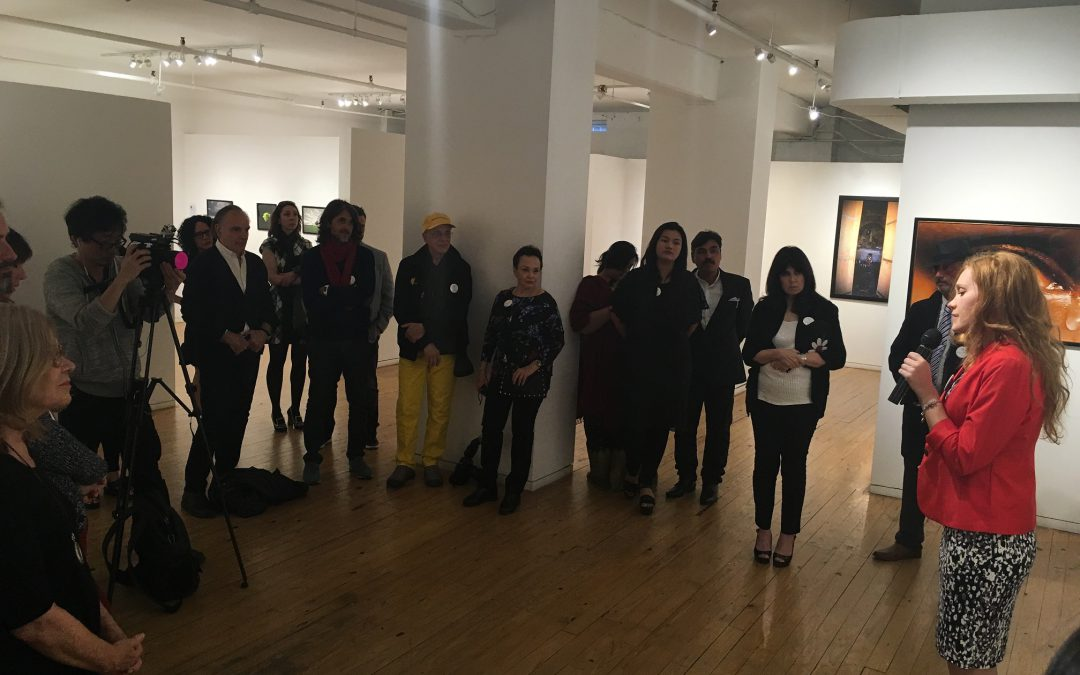 Agora Gallery's April 28th Opening Reception