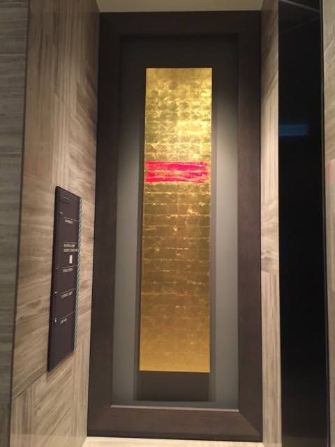 One of David Stanley Hewett's works in the Limousine Lobby of The Oakwood Premier Tokyo