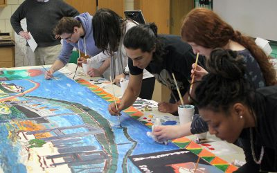 Art Outside the Gallery: Making Murals with James Chisholm